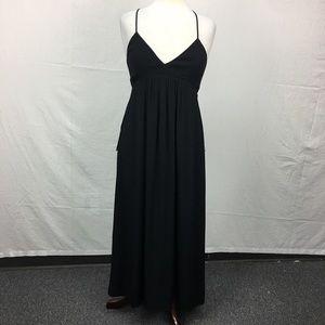 Aritzia Talula Black Cosimo Maxi Dress